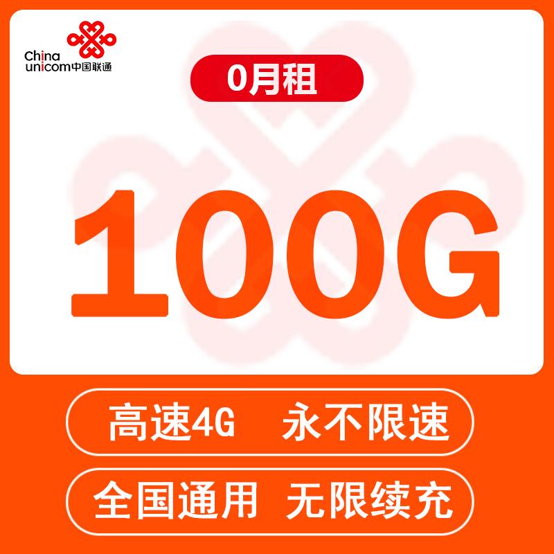 【积分兑换】联通流量卡联通物联网上网卡